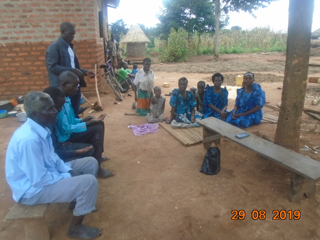 Village-to-village orientation on sorghum