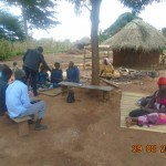Village-to-village farmer orientation on sorghum