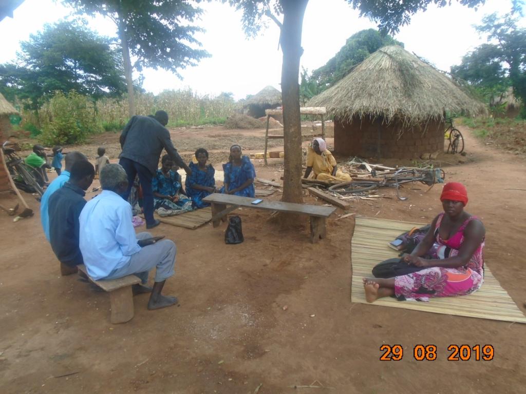 Village-to-village farmer orientation on sorghum