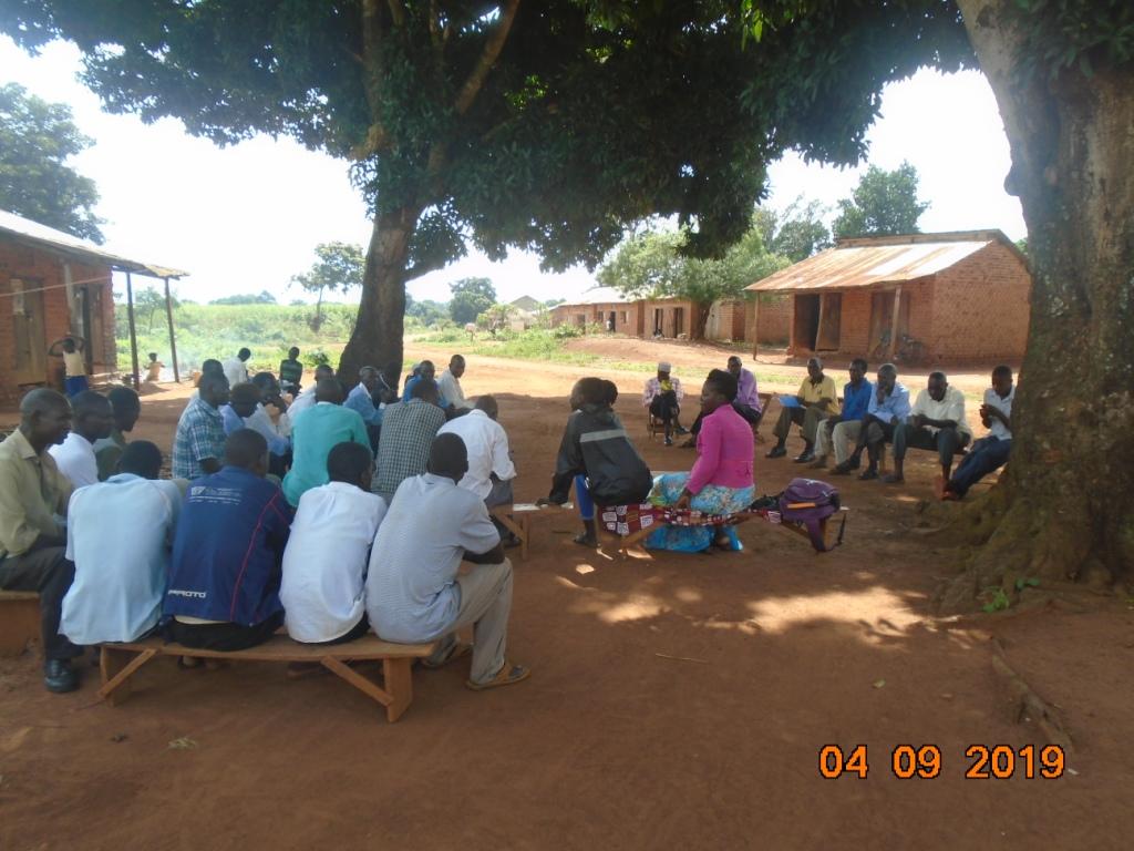Village-to-village orientation on sorghum