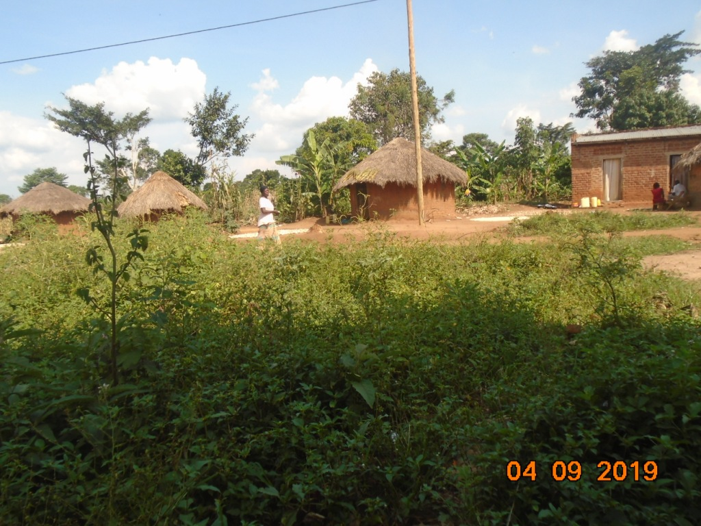 Visiting a prospective sorghum farmer's home